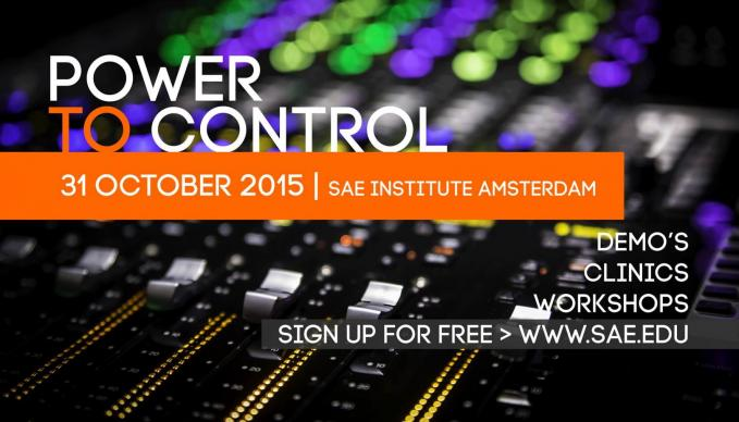 Power to Control at SAE Amsterdam