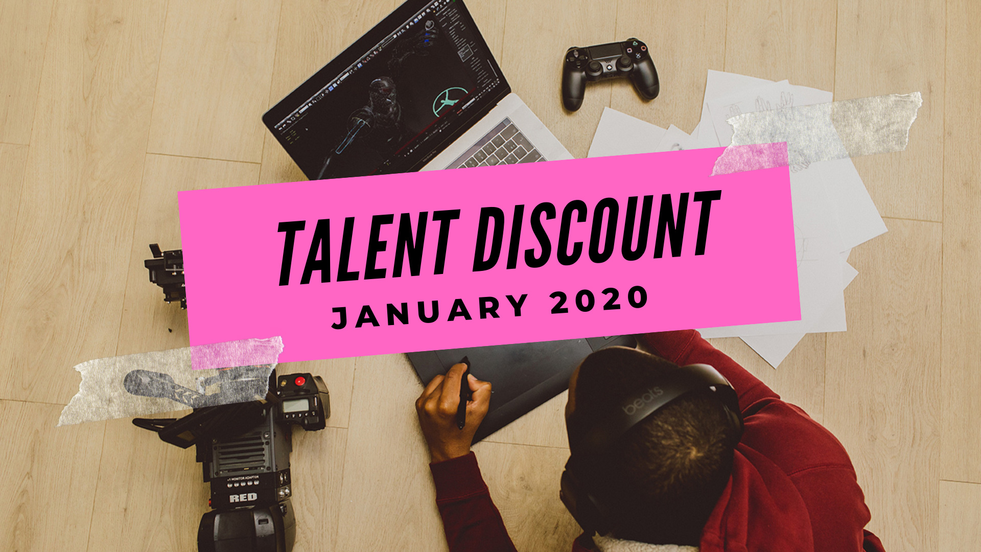 Talent Discount: January 2020