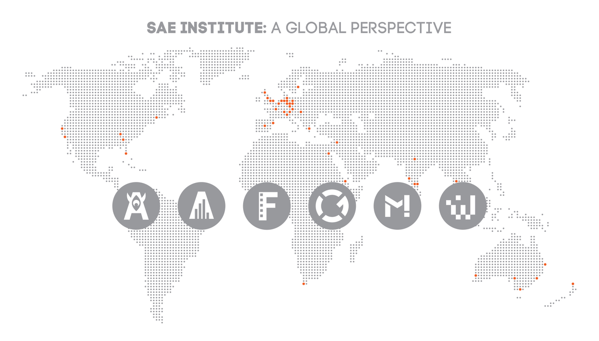 SAE Global Map